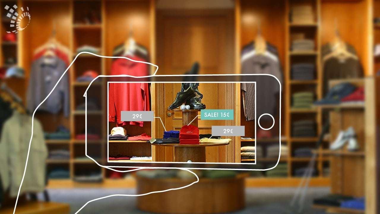Kiterjesztett valóság applikáció shop