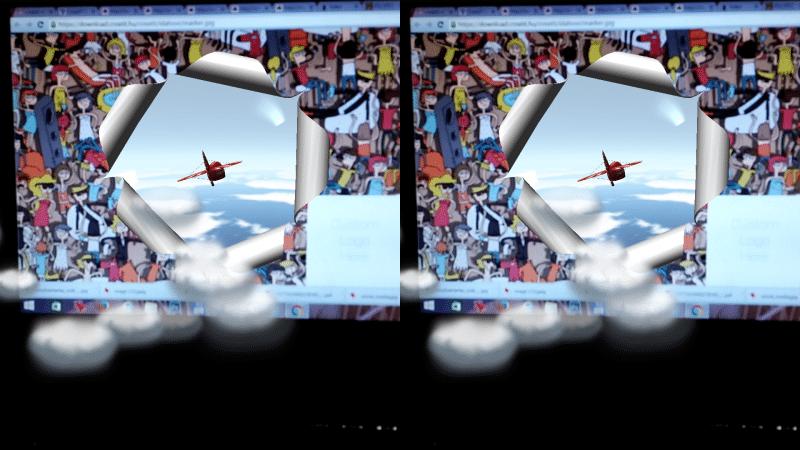 Virtuális valóság applikáció