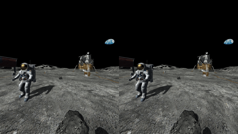 Virtuális valóság a Holdon